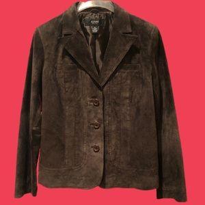 Vintage Alfani Petite Suede Jacket-Never Worn-M